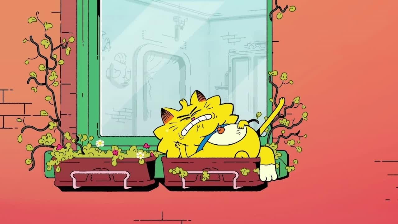 Cat-atrophies | Morning Stretch
