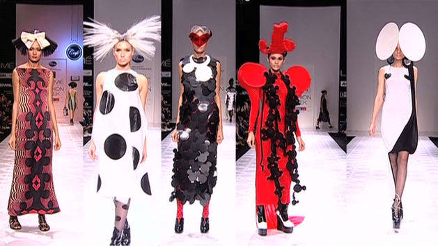 Minnie Mouse-Inspired Fashion at Mumbai Fashion Week