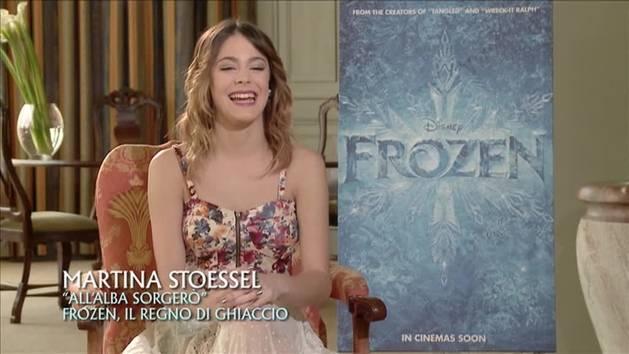 Frozen - intervista a Martina Stoessel