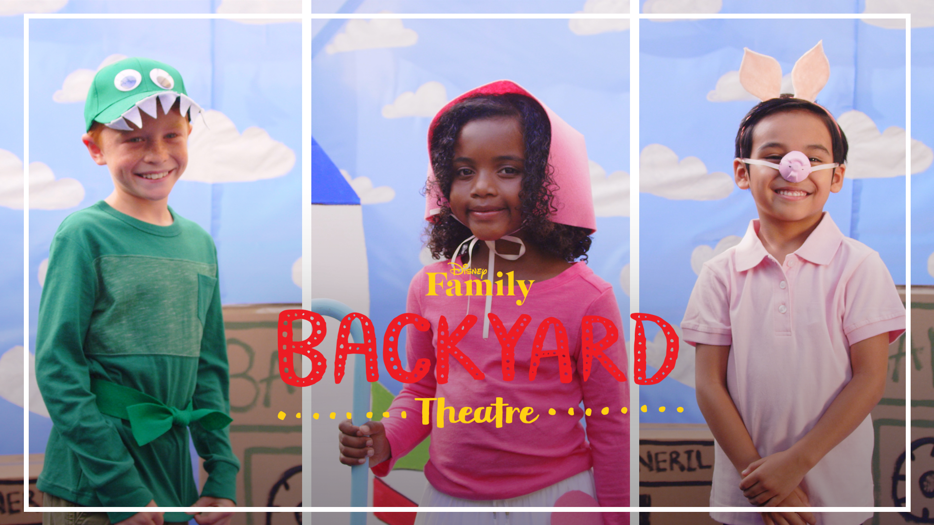 Backyard Theatre: Toy Story Costumes DIY | Disney Family