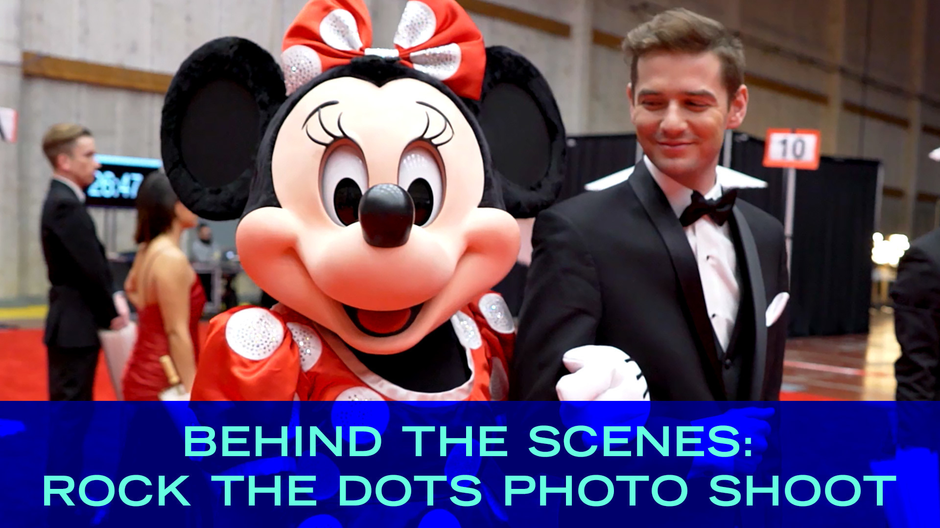 Minnie Behind The Scenes Photo Shoot | Disney Style