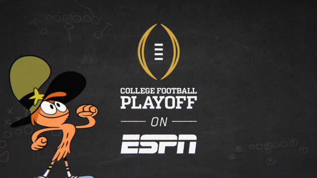 Wander Over Yonder to ESPN for the College Football Playoff!