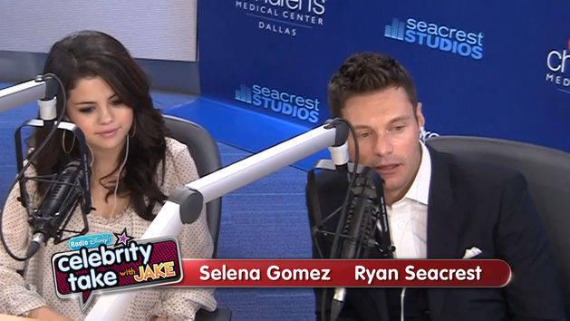 Selena Gomez and Ryan Seacrest - Celebrity Take with Jake