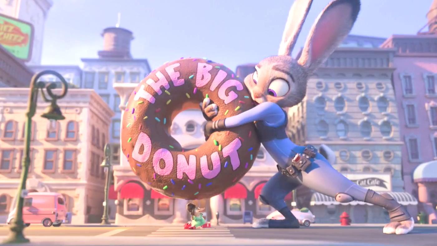 """Have a Donut"" Clip - Zootopia"