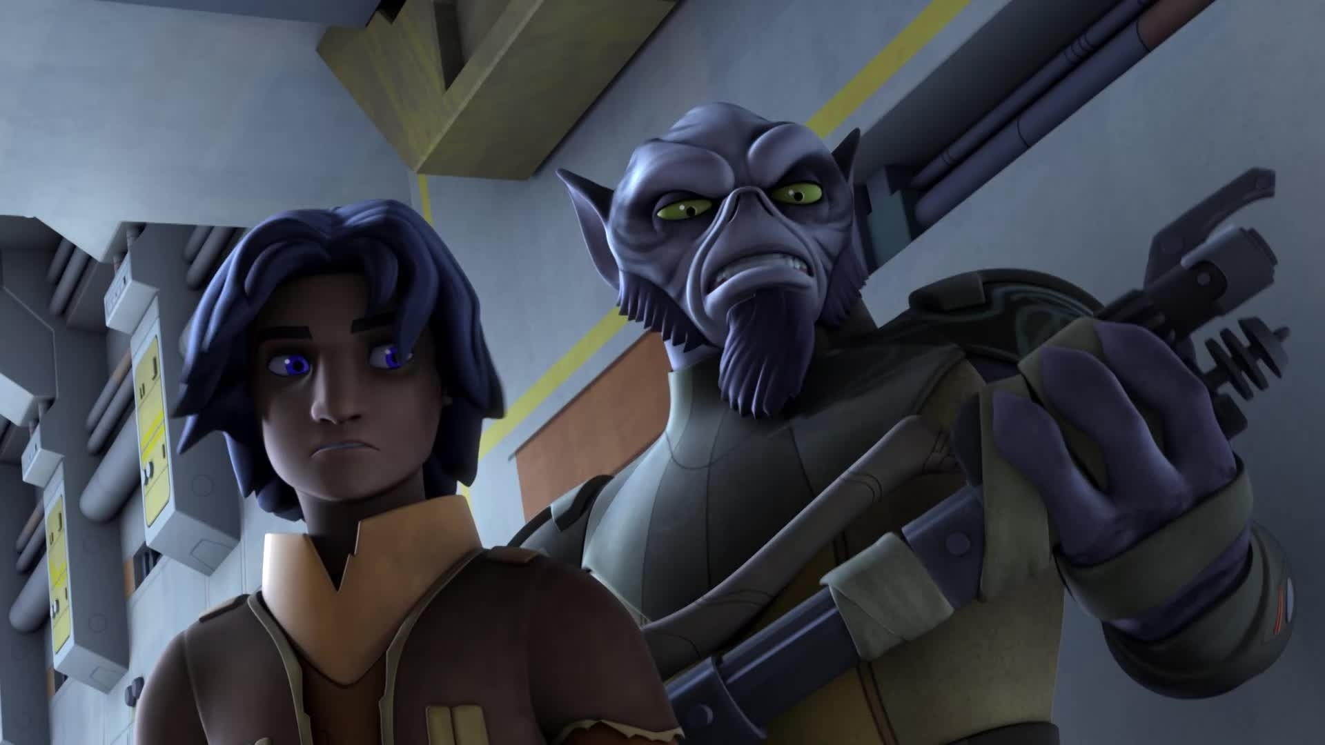 Star Wars Rebels - Monsters in het donker