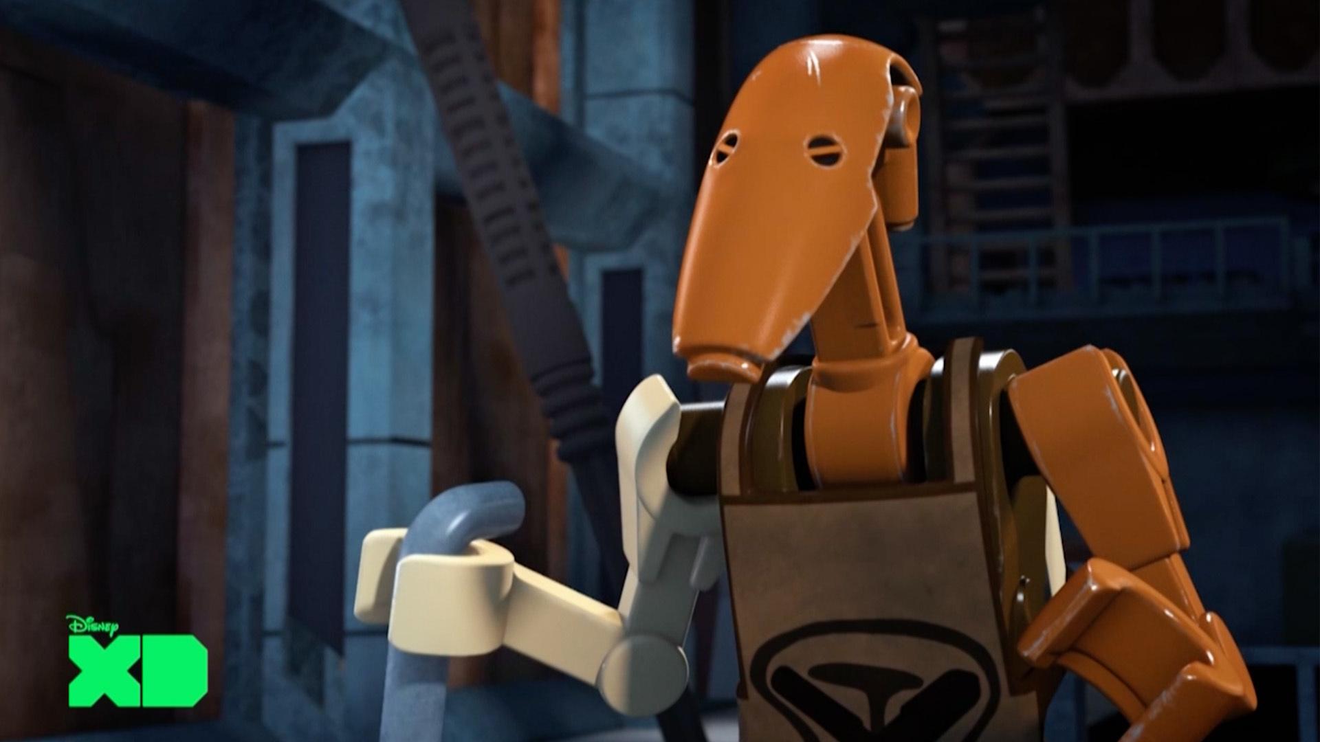 Roger droid lokajowy