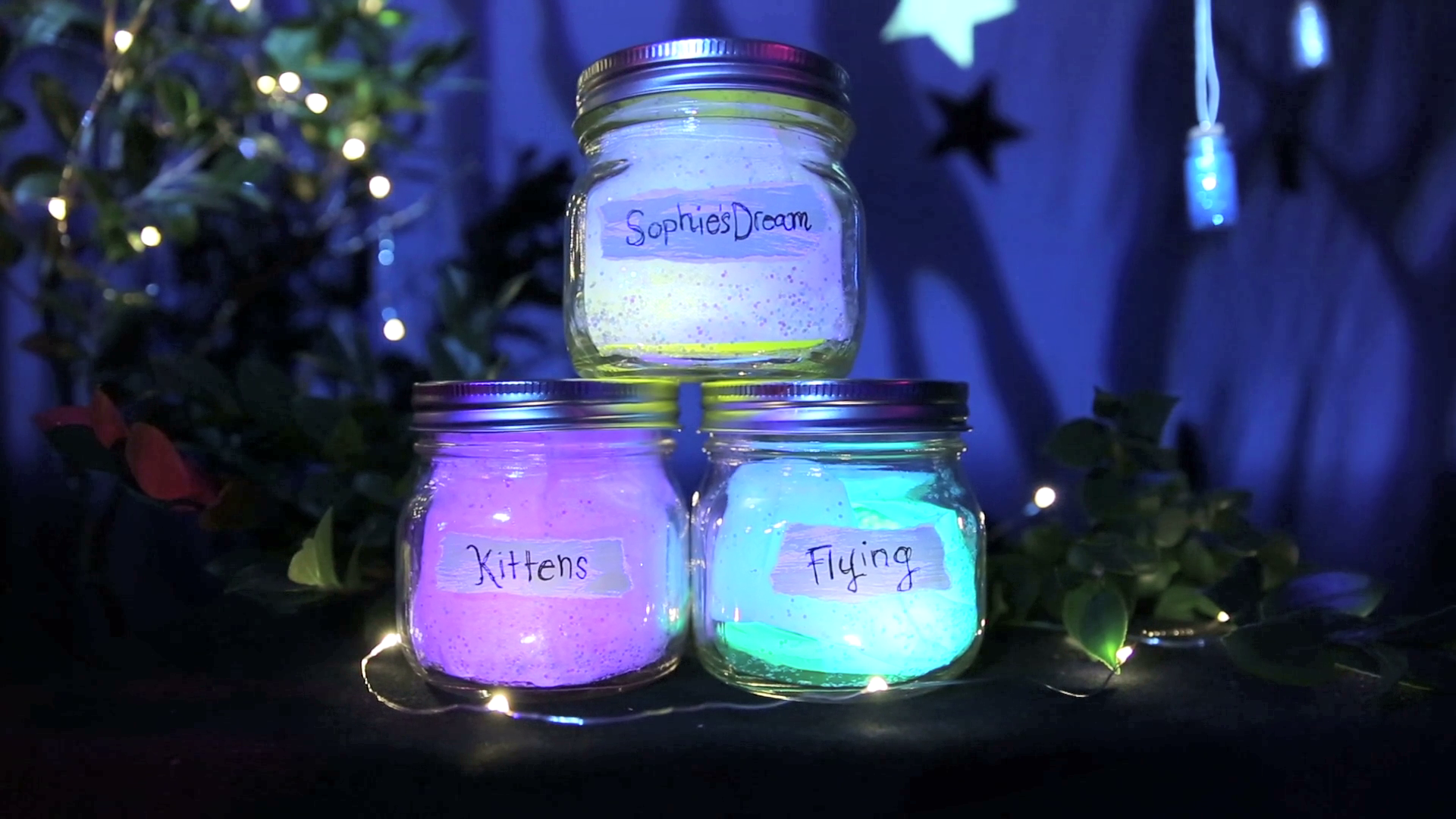 BFG Dream Jars | Disney DIY