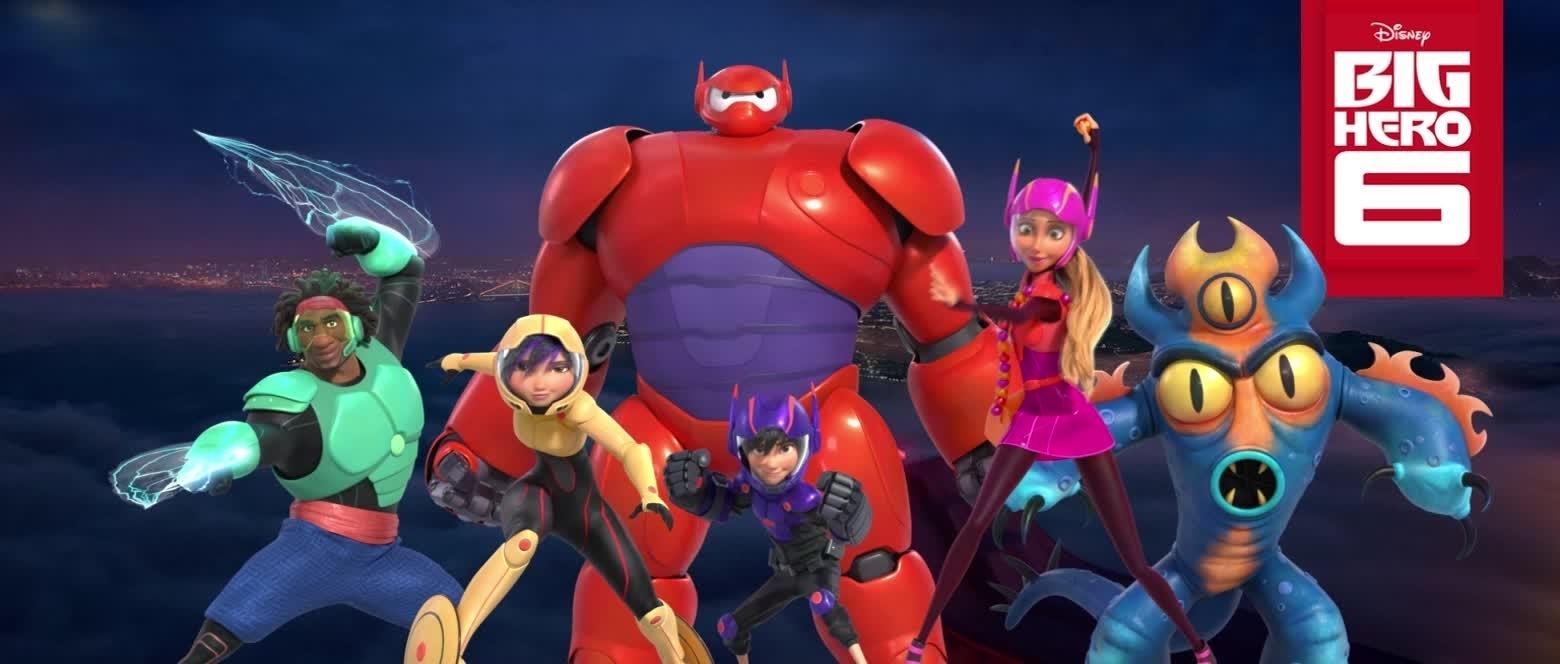 Big Hero 6 Tagline Heroes Animation