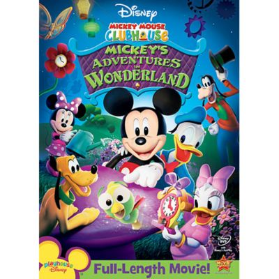 Mickey's Adventures In Wonderland DVD