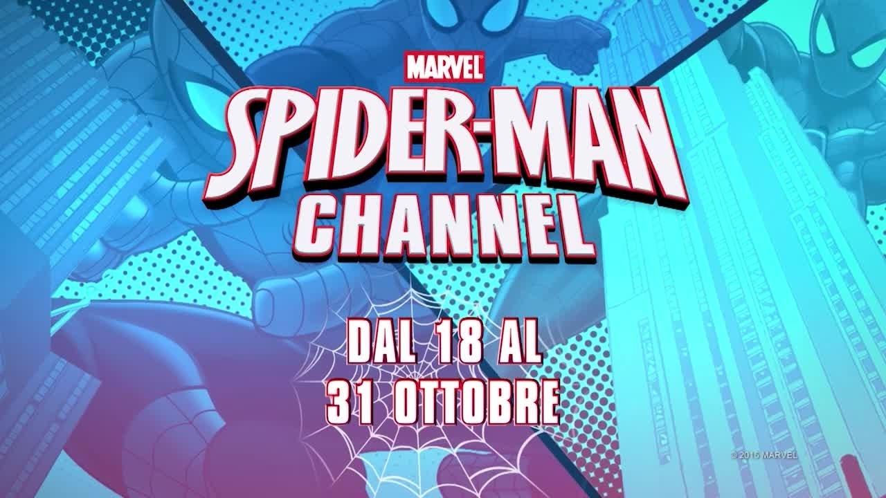 Spider-man Channel - Dal 10 al 31 Ottobre