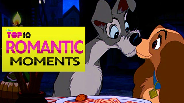Romantic Moments | Movie Clips - Disney Top Ten