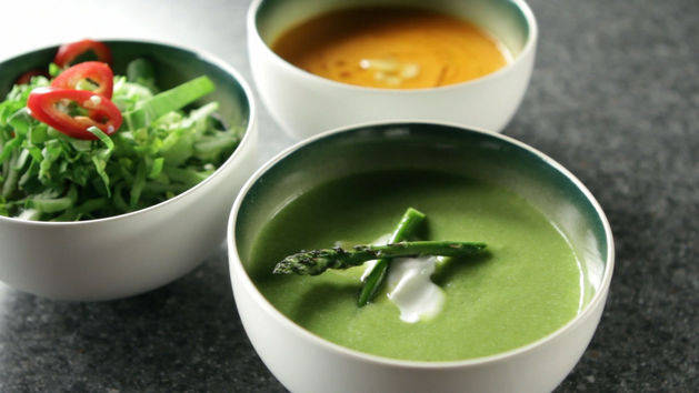 Three Delicious Soups