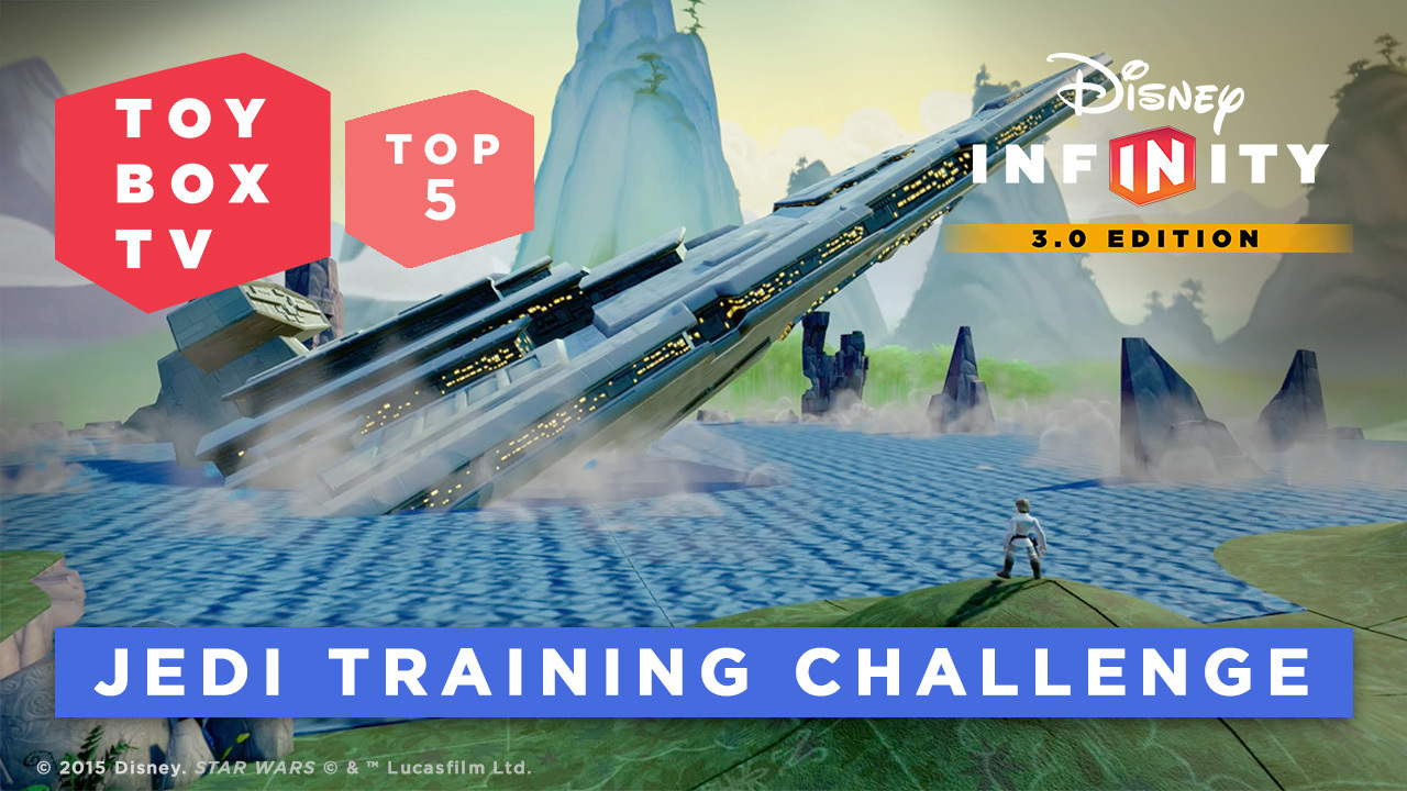 Jedi Training Challenge - Disney Infinity Toy Box TV Top 5 Toy Boxes