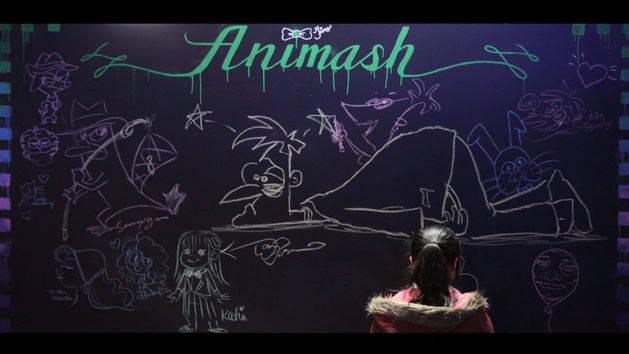 Chalkboard Time-lapse - Animash