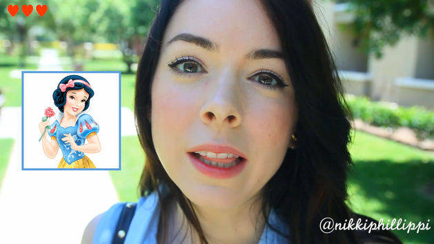 Snow White Inspired Look - A Disney Exclusive by Nikki Phillippi