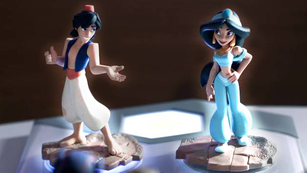 Aladdin & Jasmine Together at Last - Disney Infinity (2.0 Edition)