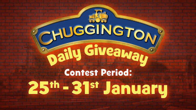 It's the Chuggington Daily Giveaway!