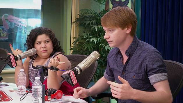 Raini Rodriguez and Calum Worthy Take Over - Radio Disney