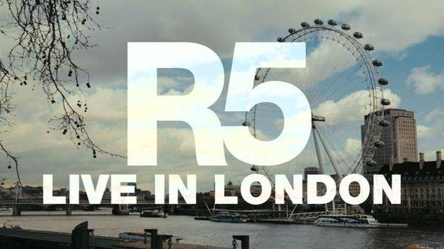 """Pass Me By"" (Live In London) - R5"