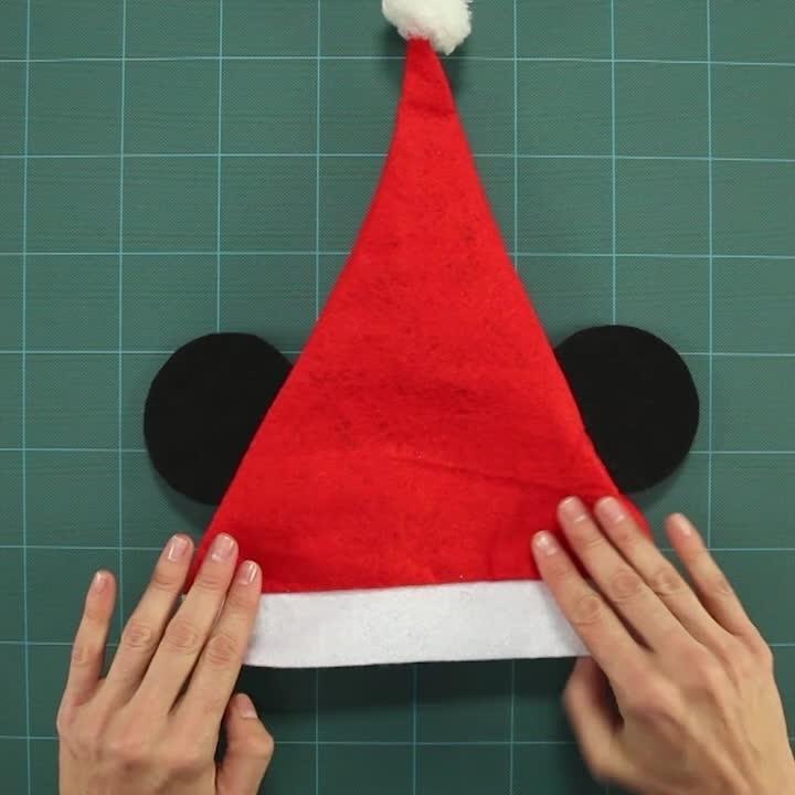 Tutorial Pălăria de Crăciun a lui Mickey
