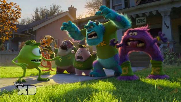 Monsters University - Spaventiadi