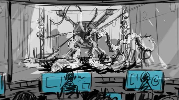 Portal Monster - Big Hero 6 Alternate Opening