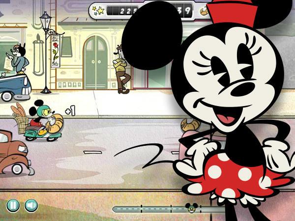 Mickey Livraison Express