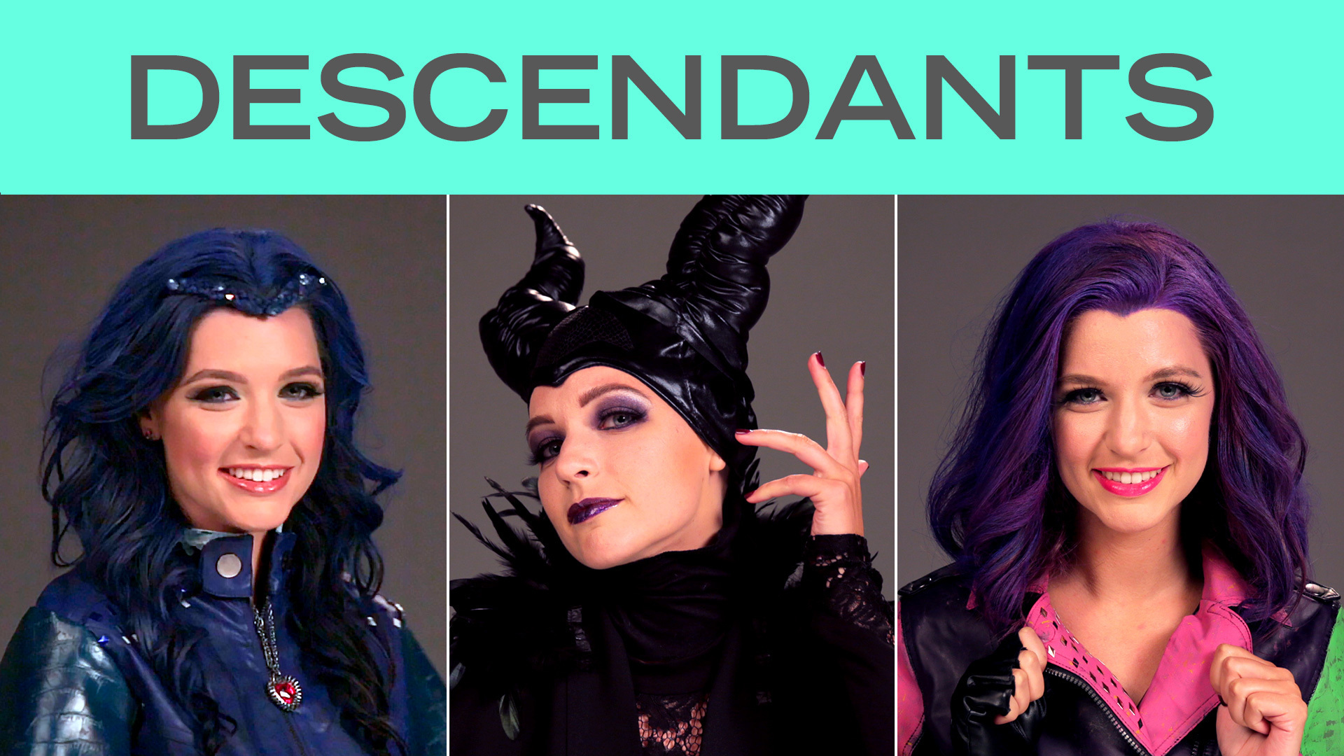 Disney Style Transformations: Descendants