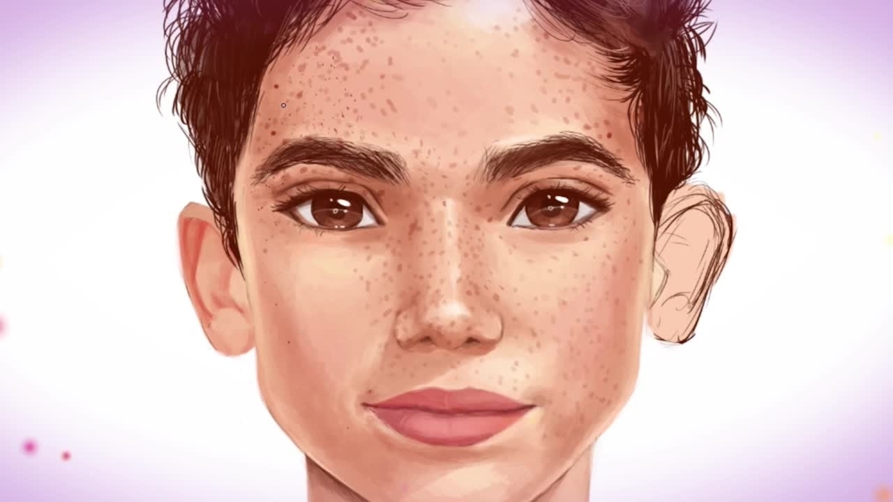 Portret Camerona Boyce'a