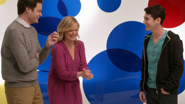 Movie Surfers: Amy Poehler and Bill Hader - Inside Out