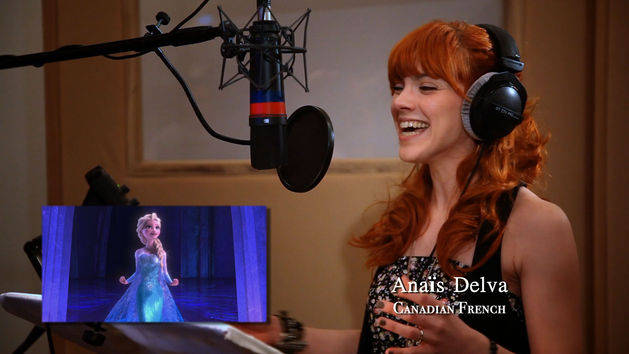 Let It Go in Studio - Frozen Behind the Scenes