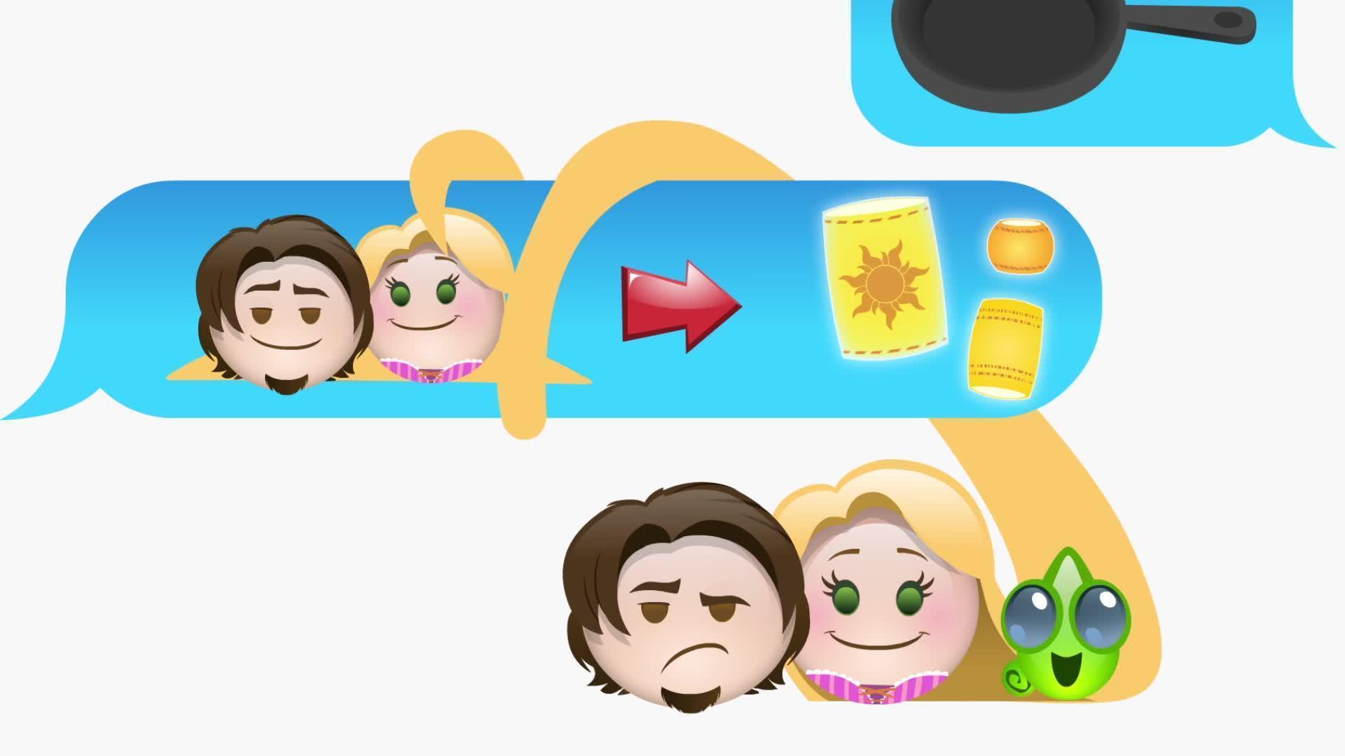 Zaplątani w wersji emoji