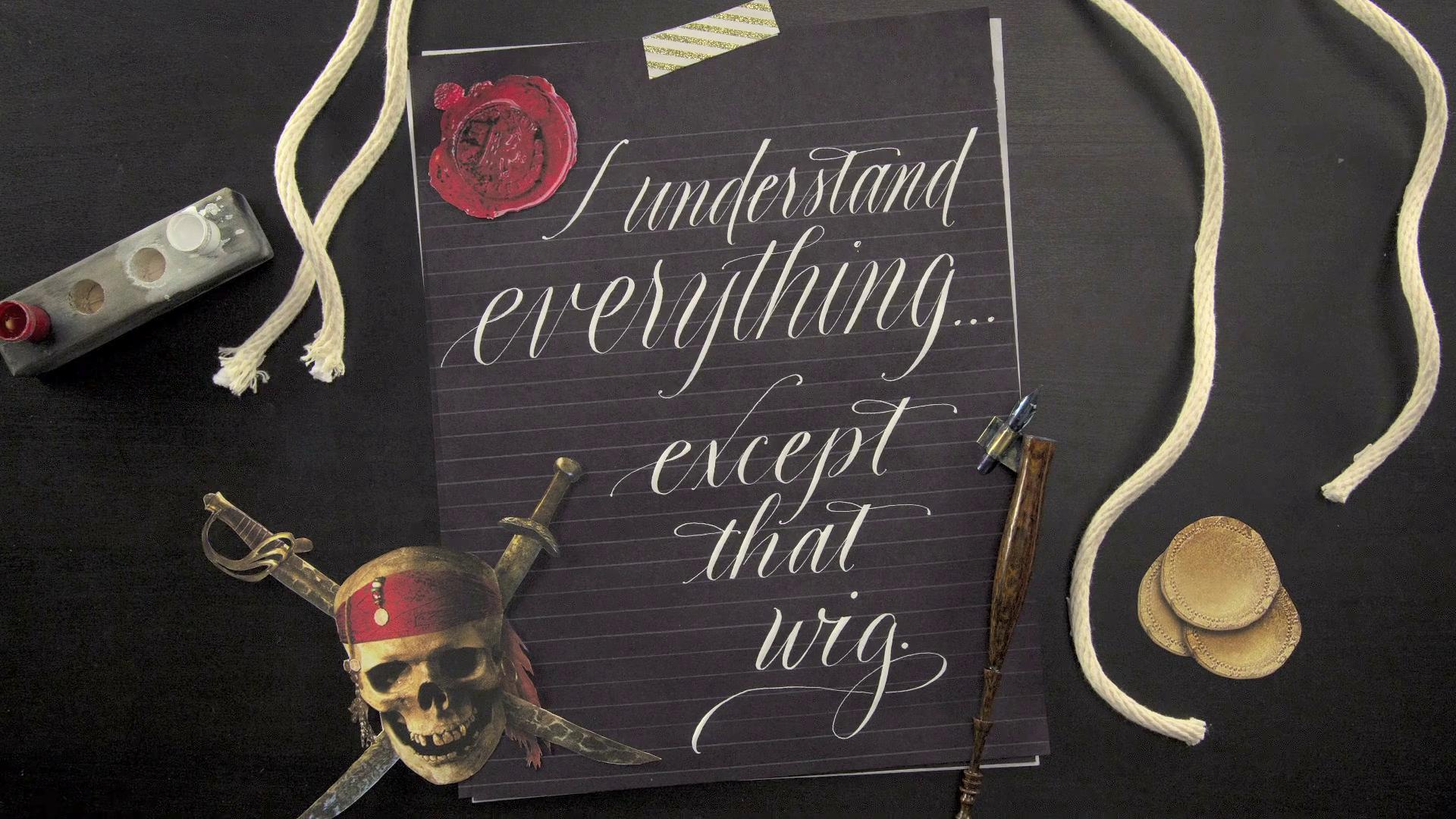 Calligraphy Artist Creates Amazing Disney Comeback Quotes Part 02 | Oh My Disney