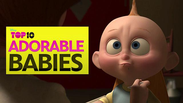 Adorable Babies - Disney Top 10