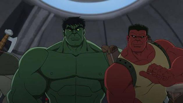 Extraños en una tierra extraña - Hulk y los agentes de S.M.A.S.H