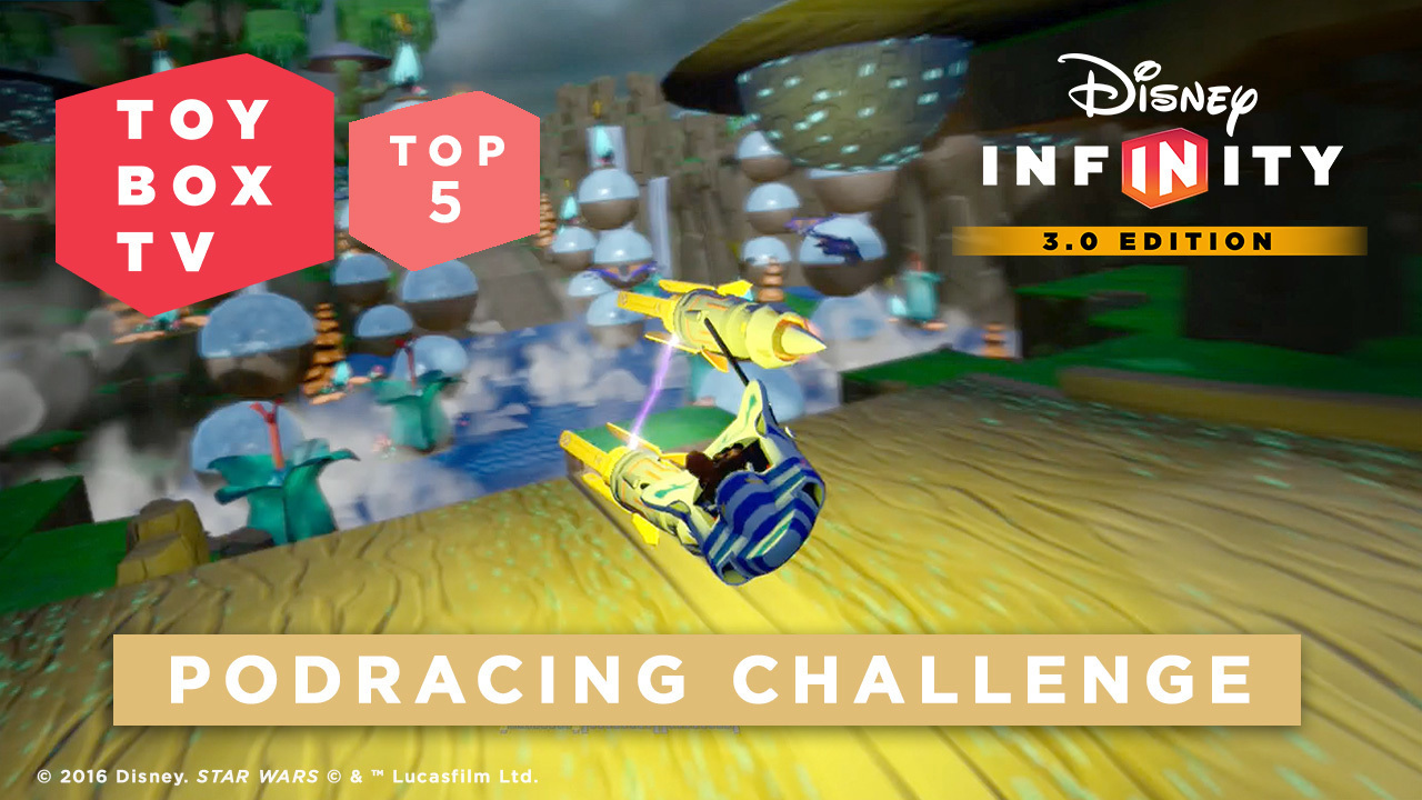 Podracing Challenge - Top 5 Toy Boxes - Disney Infinity Toy Box TV
