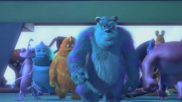 Monsters Inc Blu-ray Trailer
