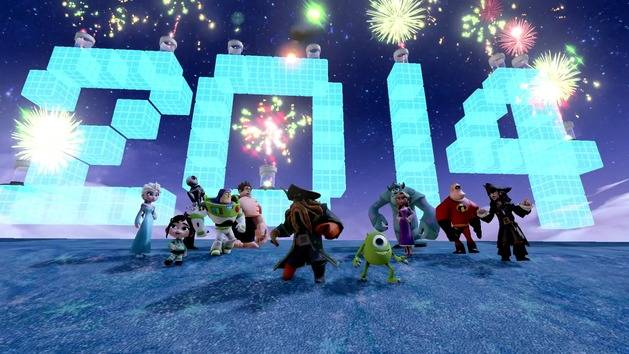 Happy New Year from Disney Infinity!