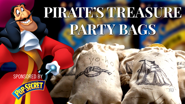 Pirate's Treasure Party Bags | Dishes by Disney
