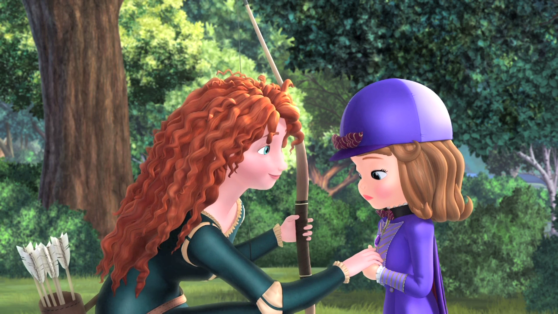 Merida Lends a Hand | The Secret Library New On DVD