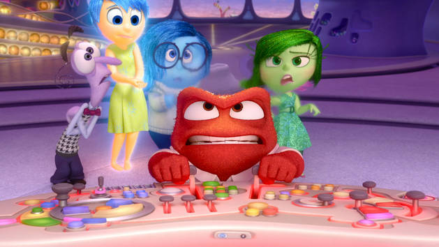 Disgust and Anger - Inside Out Clip