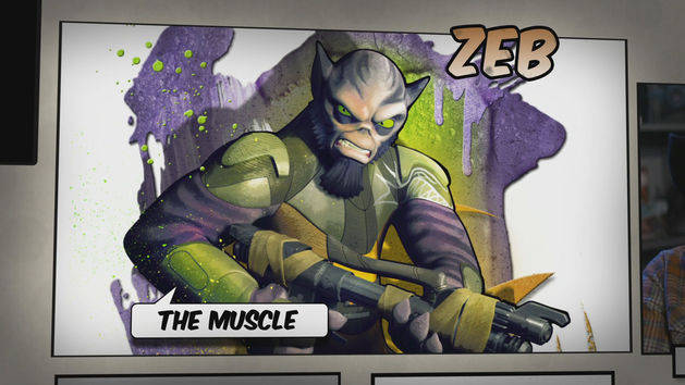 Star Wars Rebels: Meet Zeb, the Muscle