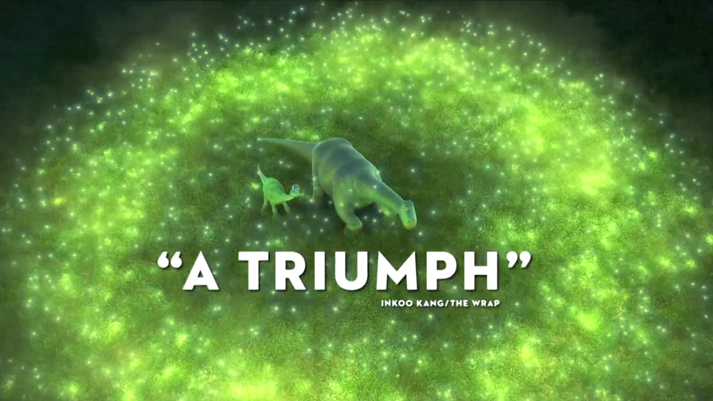 """Triumph"" TV Spot - The Good Dinosaur"
