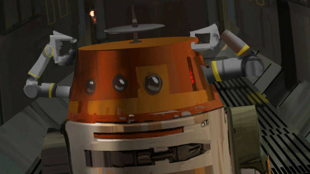 Star Wars Rebels: Meet Chopper, Grumpy Astromech Droid