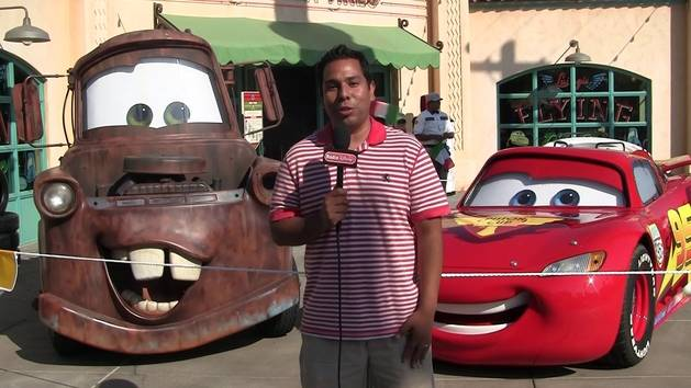 Ernie D at Cars Land - Radio Disney