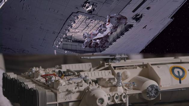 Millennium Falcon and Asteroids - Discoveries From the Inside