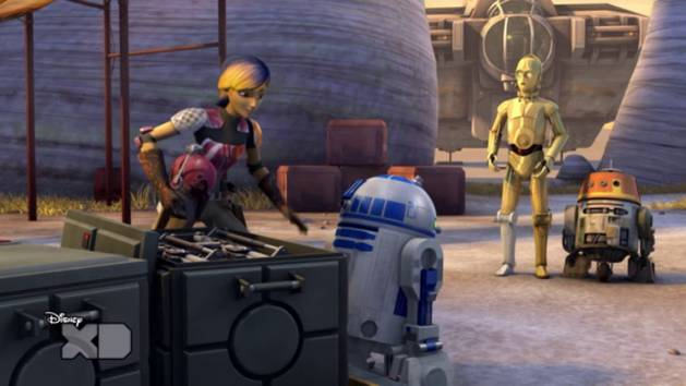 Star Wars Rebels - Droidi preoccupati