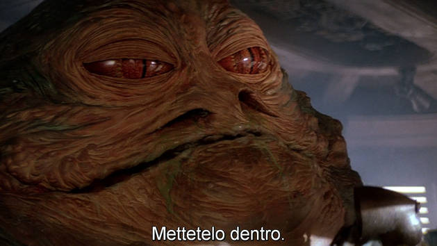 Star Wars - Duello vicino ai Sarlacc