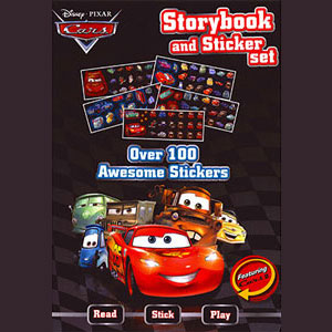 Disney.Pixar Cars Storybook and Sticker Set