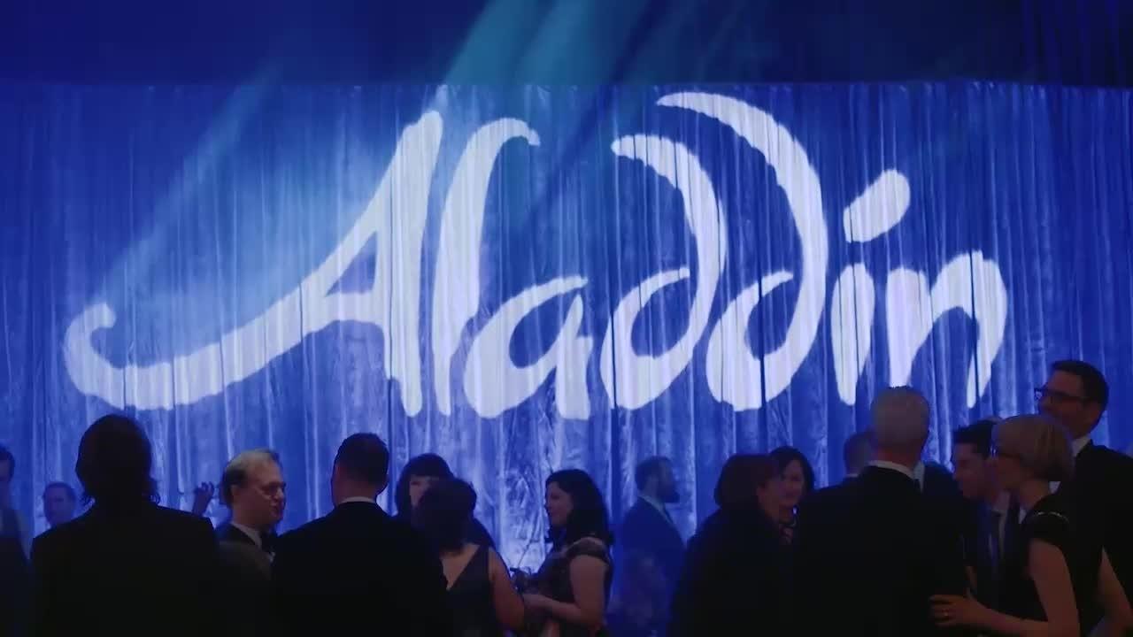 Aladdin: Opening Night